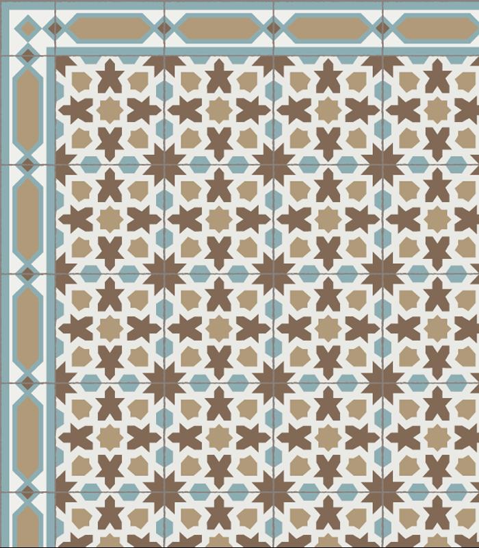reproduccion de azulejos antiguos